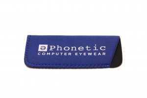 Large Phonetic Glasses Case